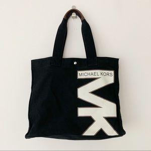Michael Kors MK Black Tote Bag